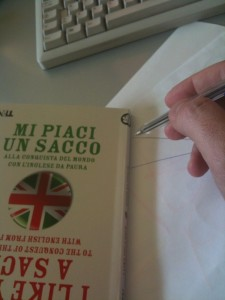 Utilizzo del libro: the team for throw the lines flat