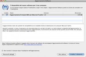 """aggiornamento SMC iMac 27"""""""