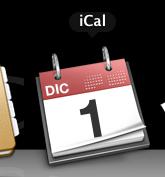 Aggiornamento icone dock: iCal