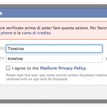 Facebook Timeline: una prova costosa per i miei gusti