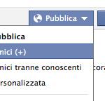 Facebook, amici e conoscenti